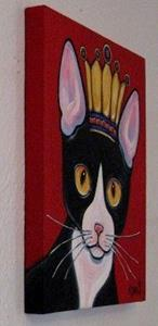 Detail Image for art Kitty Queen
