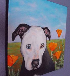 Detail Image for art Pibble in the Poppies