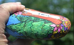 Detail Image for art Floral Basset