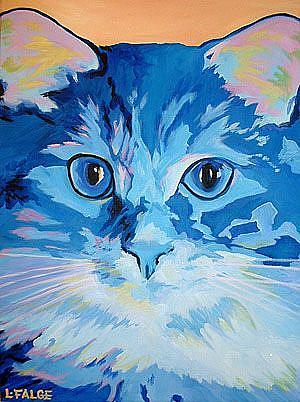 Art: Little Boy Blue by Artist Lindi Levison
