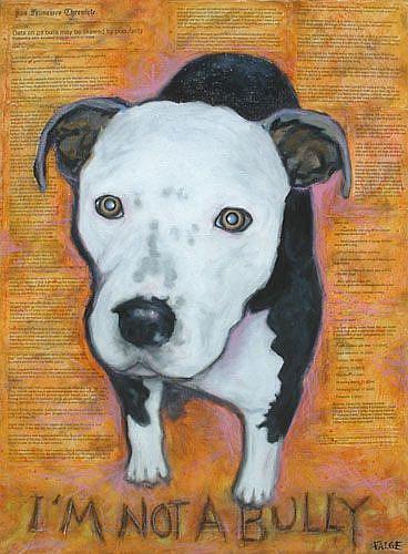 Art: I'm Not A Bully by Artist Lindi Levison