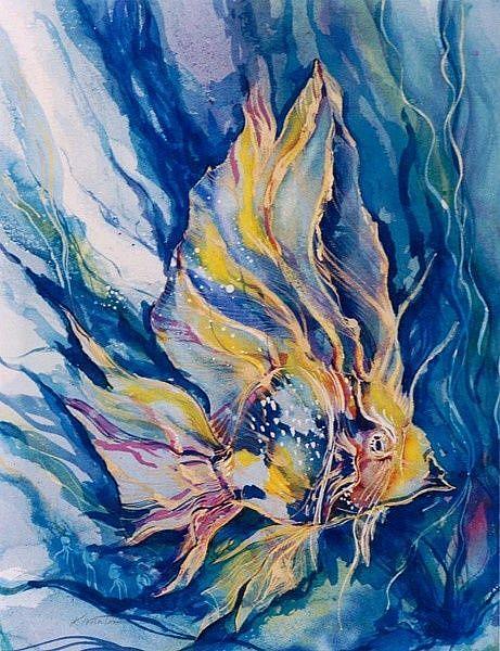 Art: Fantasy Fish by Artist Kathy Morton Stanion