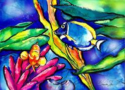 Art: Fish by Artist Kathy Morton Stanion