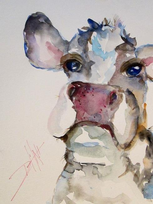 Art: Cow No. 2 by Artist Delilah Smith