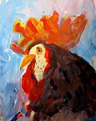 Art: cock -sold by Artist Delilah Smith