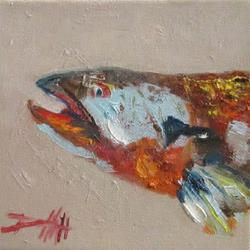 Art: Trout by Artist Delilah Smith