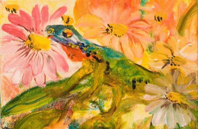 Art: Garden Friend-sold by Artist Delilah Smith