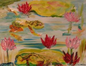 Detail Image for art Frog Jump