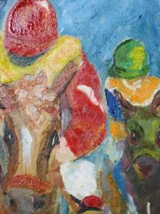 Detail Image for art The Jocky-sold