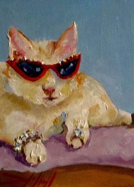 Art: Bling Kitty by Artist Delilah Smith