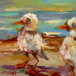 Art: IMG_beach-wader-2022.JPG by Artist Delilah Smith