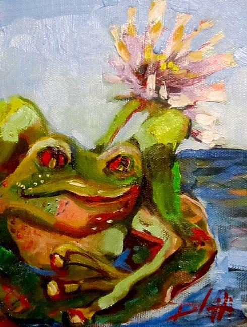 Frog=SOLD - by Delilah Smith from Animal & Wildlife