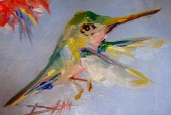 Art: Humming Bird No2 by Artist Delilah Smith