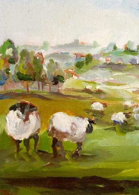 Art: Irish Sheep No. 2 by Artist Delilah Smith