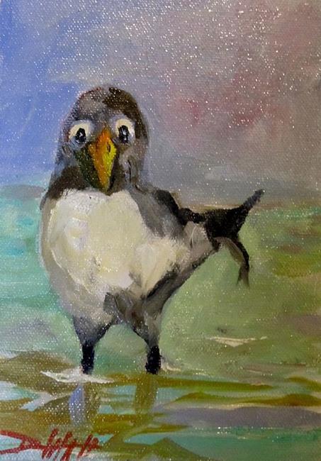 Art: Sea Bird by Artist Delilah Smith