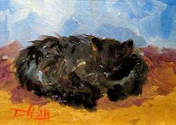 Art: black-cat (800x569).jpg by Artist Delilah Smith