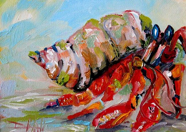 Art: Hermit Crab by Artist Delilah Smith