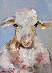 Art: Sheep No. 4 by Artist Delilah Smith