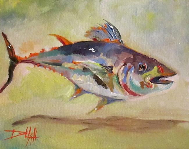 Art: Tuna by Artist Delilah Smith