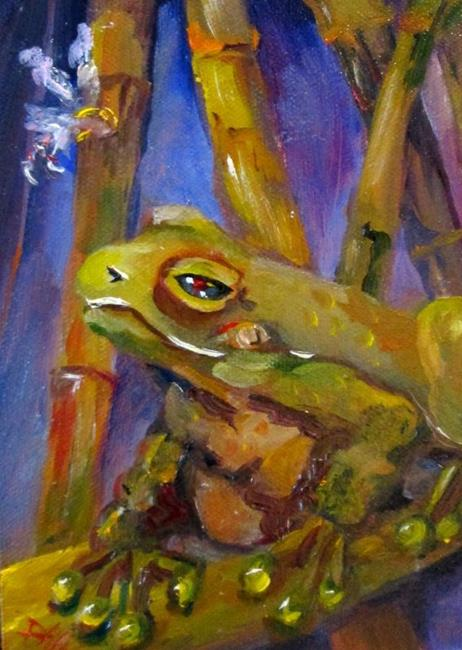 Art: Frog and Fairy by Artist Delilah Smith