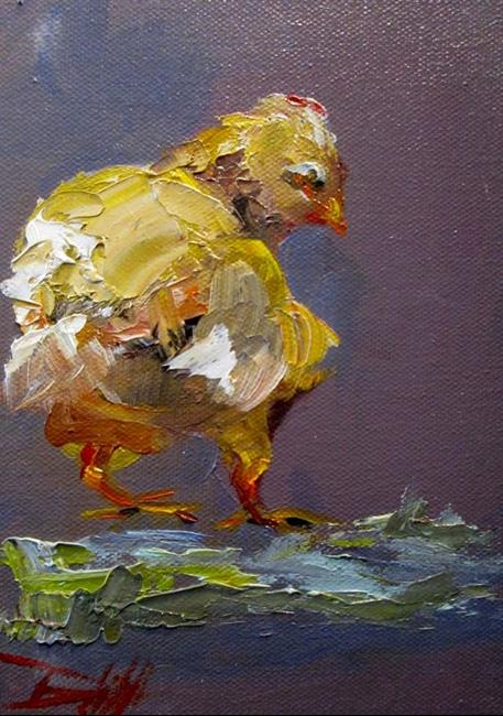 Art: Little Chick by Artist Delilah Smith