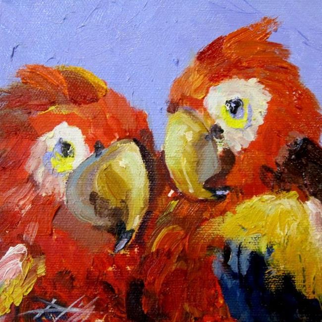 Art: Pretty Birds by Artist Delilah Smith