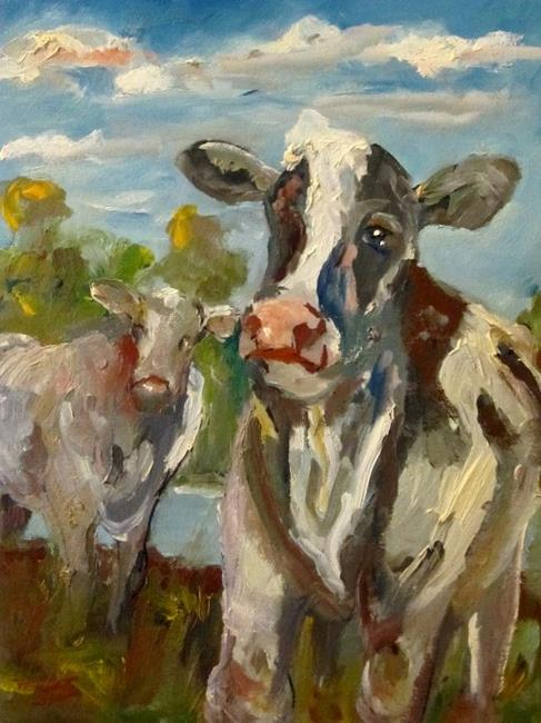 Art: Moo Cows by Artist Delilah Smith