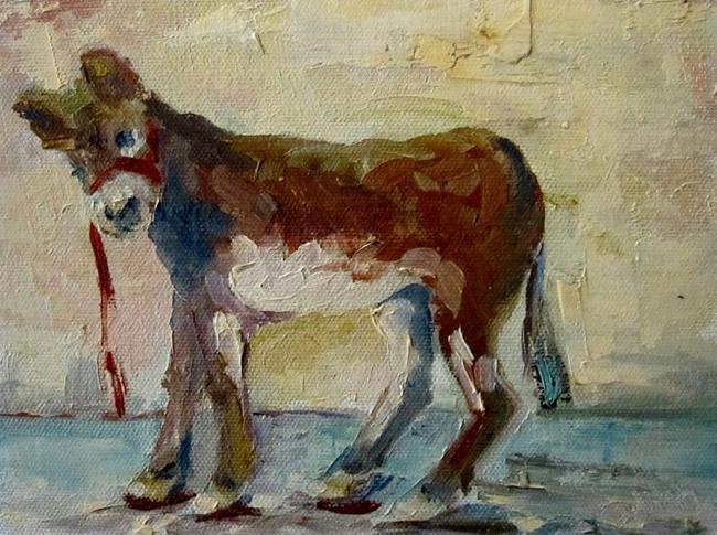 Art: Donkey by Artist Delilah Smith