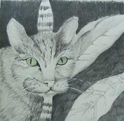 Art: Wanderer, SOLD by Artist Delilah Smith