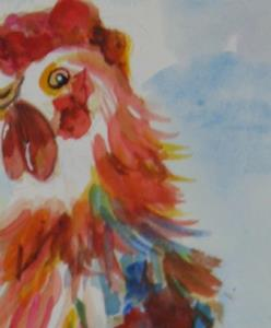 Detail Image for art Shake Your Tail Feathers,sold