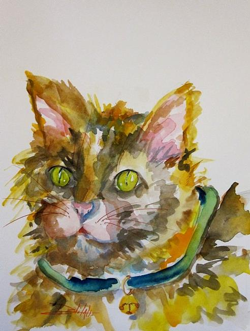 Art: Kitty Galore by Artist Delilah Smith