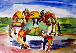 Art: Little Crab by Artist Delilah Smith