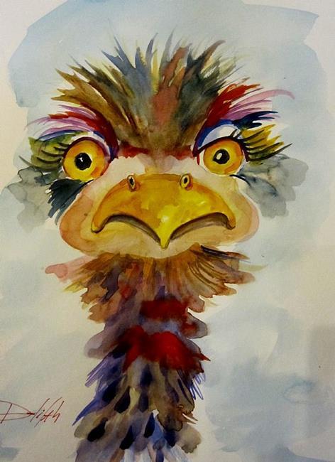 Art: Birdie Boy by Artist Delilah Smith