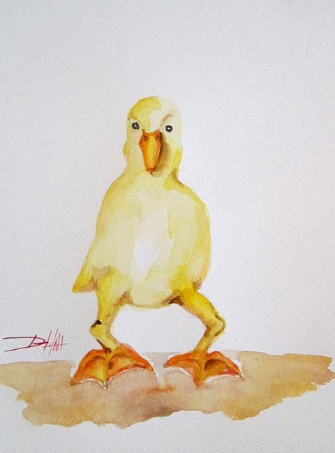 Art: Little Duck by Artist Delilah Smith