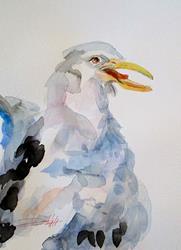Art: Gull by Artist Delilah Smith