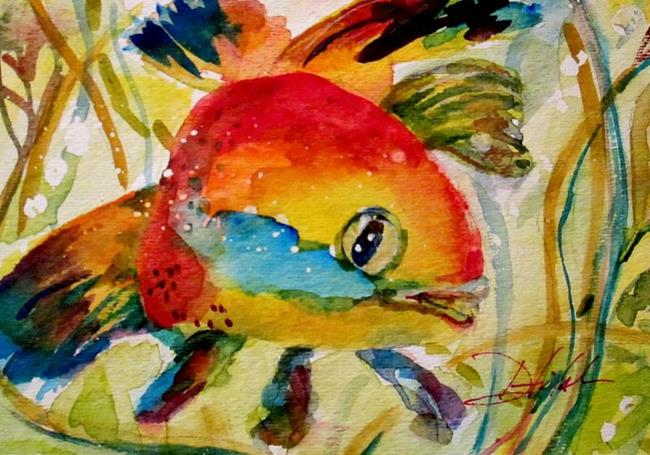 Art: Fish by Artist Delilah Smith
