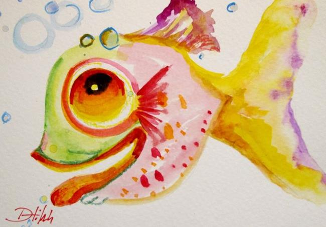 Art: Smiling Fish by Artist Delilah Smith