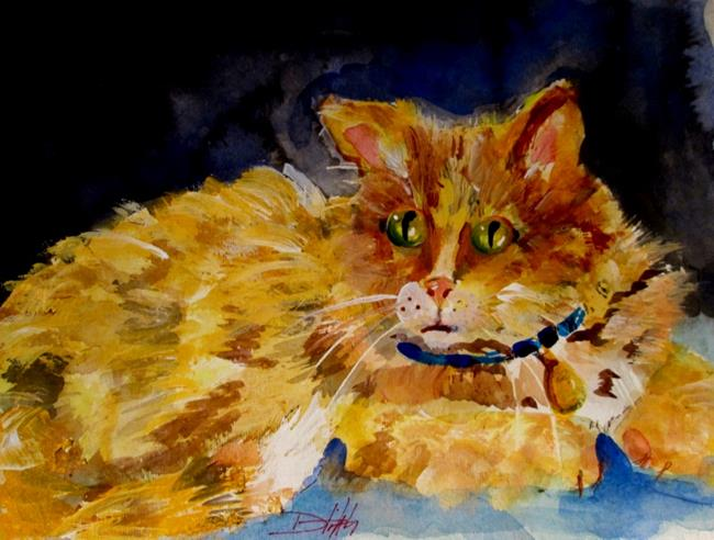 Art: Cat by Artist Delilah Smith
