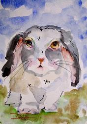 Art: Little Bunny by Artist Delilah Smith