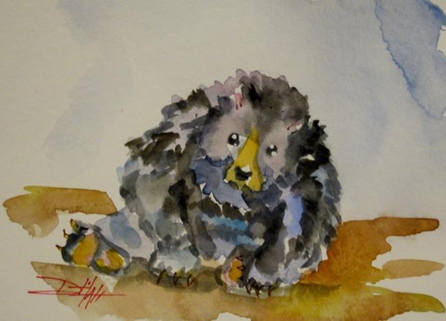 Art: Black Bear by Artist Delilah Smith