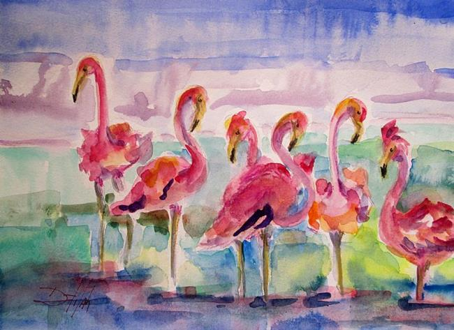 Art: Very Pink by Artist Delilah Smith