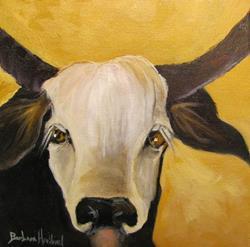 Art: Pedro the Bull by Artist Barbara Haviland