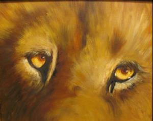 Detail Image for art Lion's Eyes