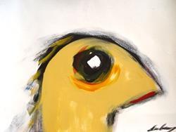 Art: Peep! by Artist Kelli Ann Dubay