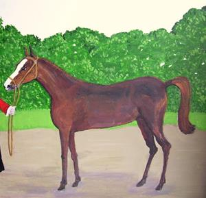 Detail Image for art Pretty Filly (Sold)