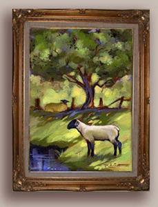 Detail Image for art Lamb & Ewe
