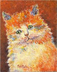 Art: Impasto Kitten - available in my etsy store by Artist Ulrike 'Ricky' Martin