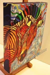 Detail Image for art Birth of Celestial Zebra