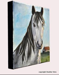 Detail Image for art Horse portrait
