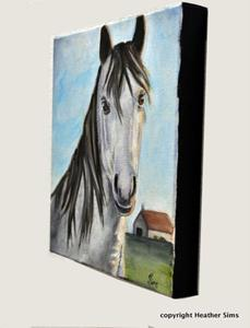Detail Image for art Horse portrait